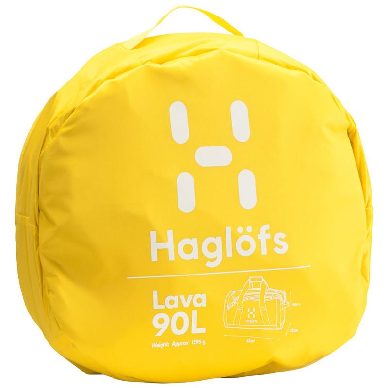 Haglöfs Duffel Bag Lava 90 Gul 5