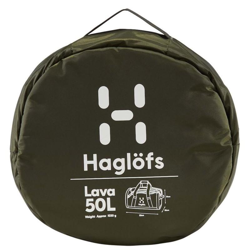 Haglöfs Duffel Bag Lava 50 Army Grøn 5