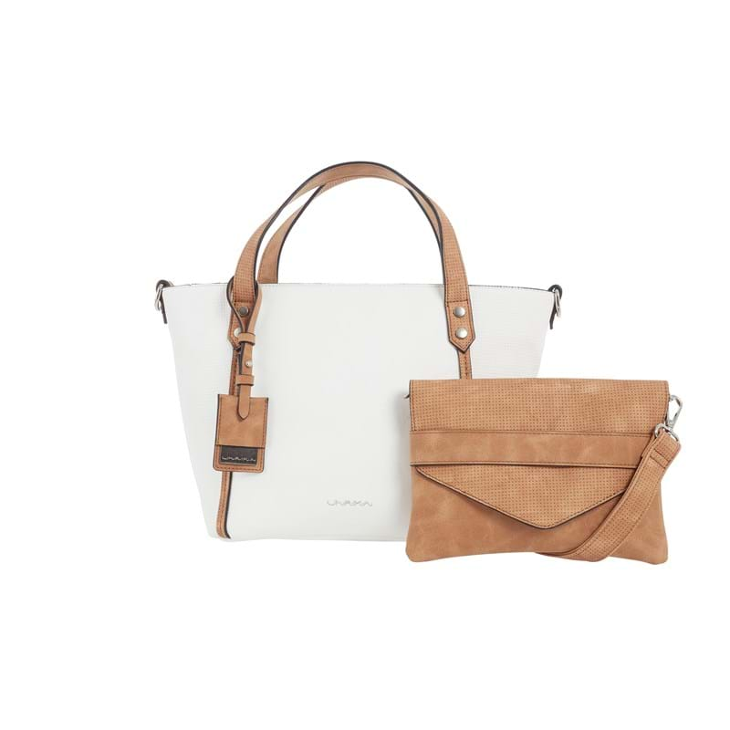 Ulrika Shopper Small Hvid 1