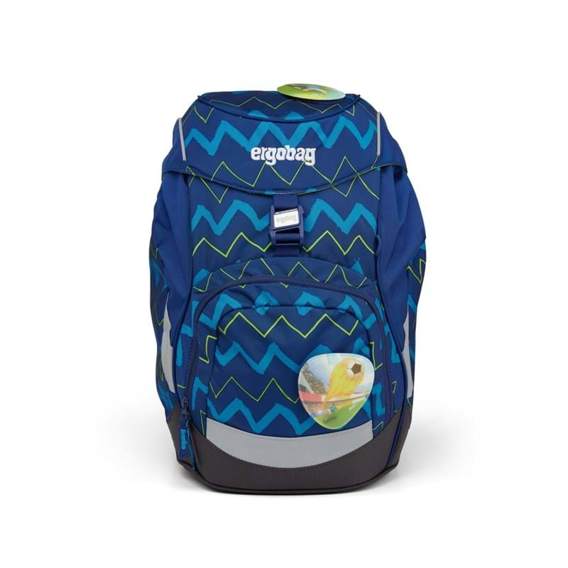 Ergobag Skoletaske Prime Blå strib 1