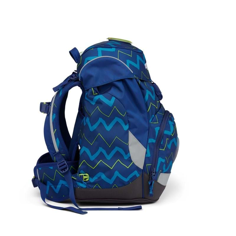 Ergobag Skoletaske Prime Blå strib 4
