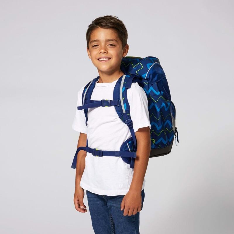 Ergobag Skoletaske Prime Blå strib 5