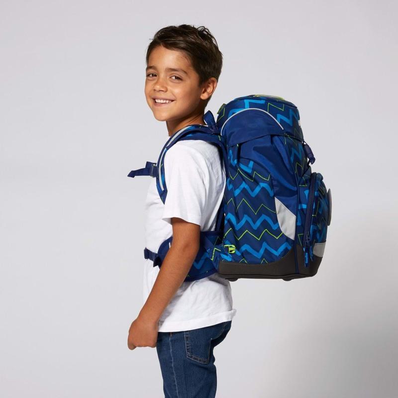 Ergobag Skoletaske Prime Blå strib 6