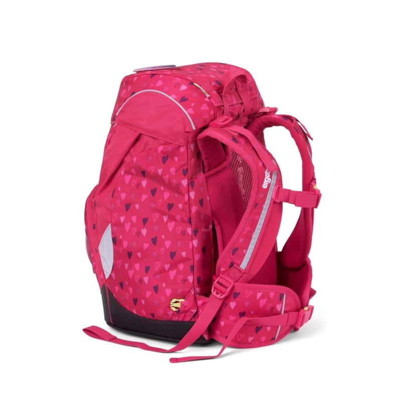 Ergobag Skoletaske Prime Mørk Rosa 4