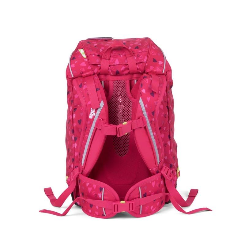 Ergobag Skoletaske Prime Mørk Rosa 5