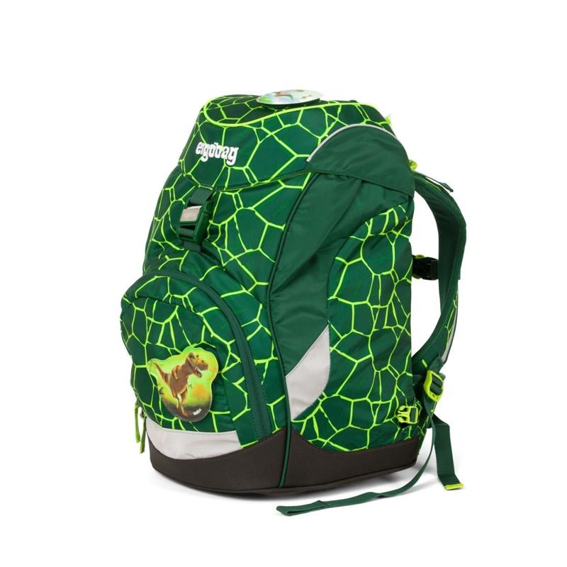 Ergobag Skoletaske Prime Grøn/sort 2