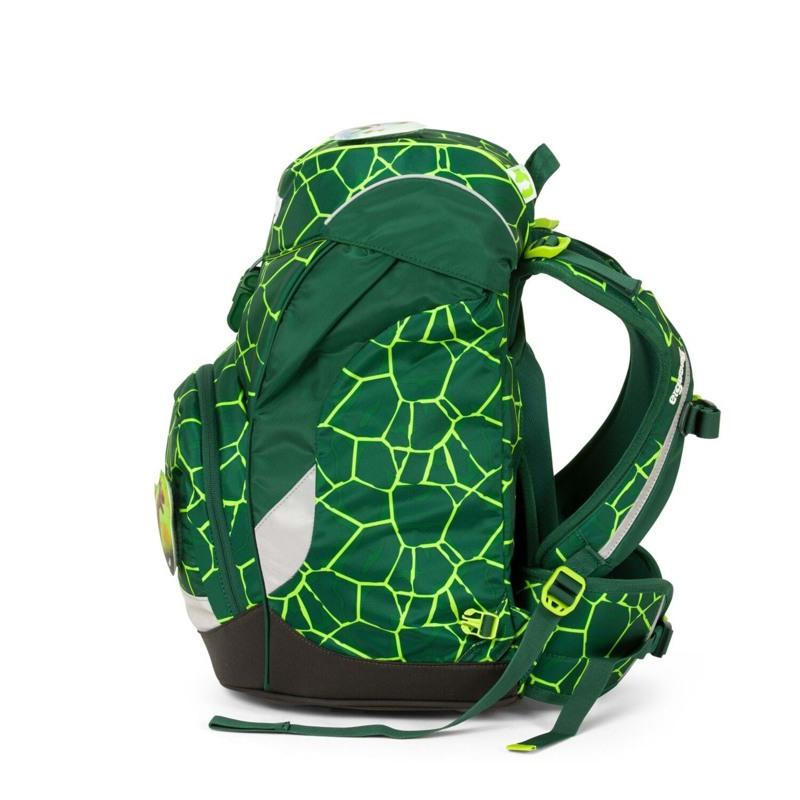 Ergobag Skoletaske Prime Grøn/sort 3