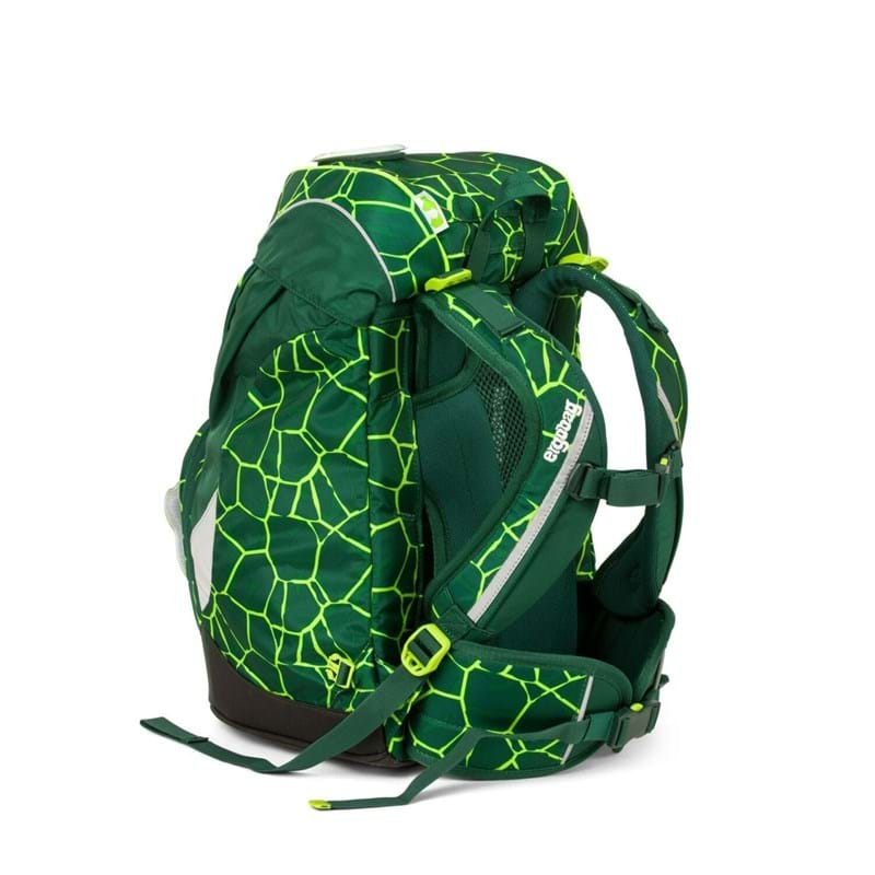 Ergobag Skoletaske Prime Grøn/sort 4