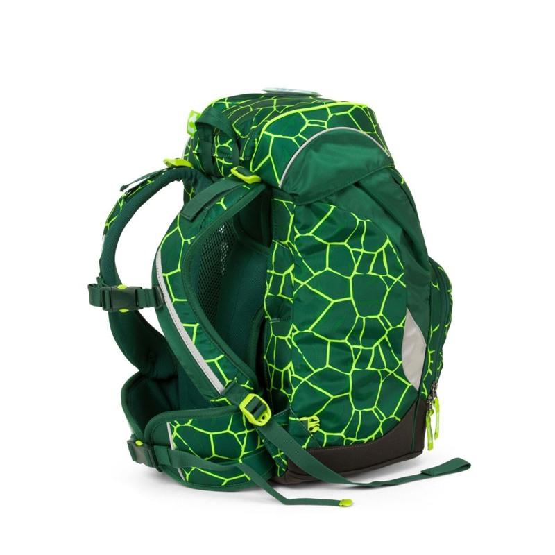 Ergobag Skoletaske Prime Grøn/sort 6