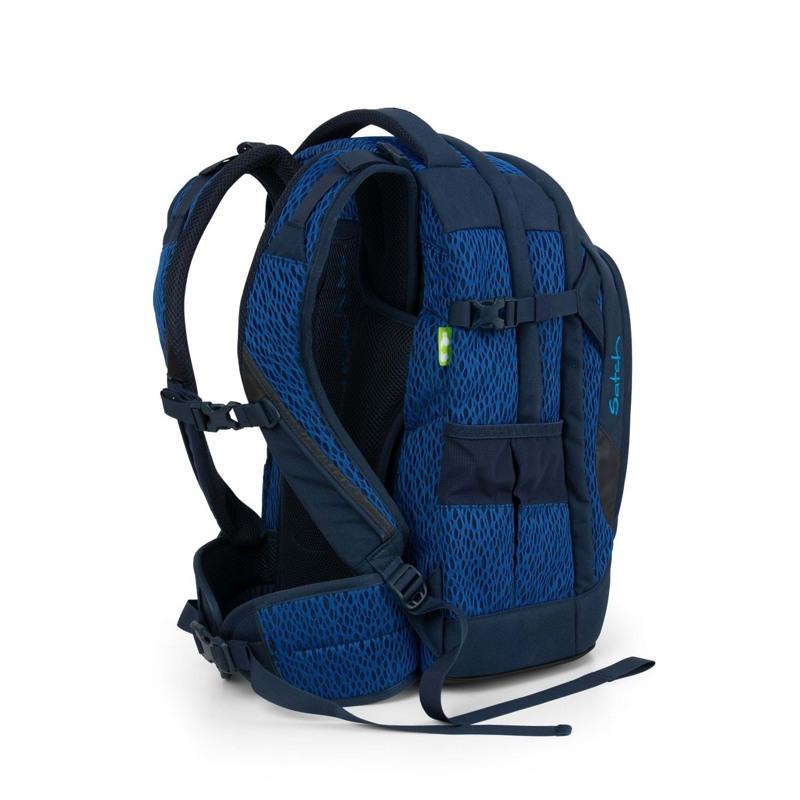 Satch Skoletaske Pack Limited Ed M. blå 4
