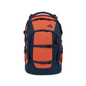 Satch Skoletaske Pack  Limited Ed Sort/Orange