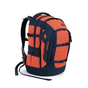 Satch Skoletaske Pack  Limited Ed Sort/Orange alt image
