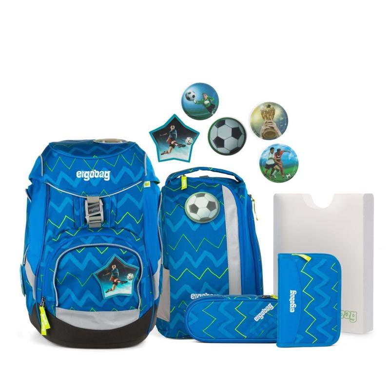 Ergobag Skoletaskesæt Pack Blå/Grøn 1