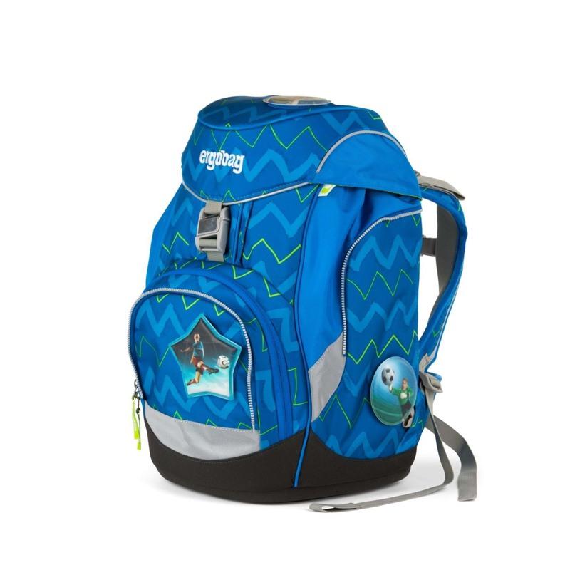Ergobag Skoletaskesæt Pack Blå/Grøn 3
