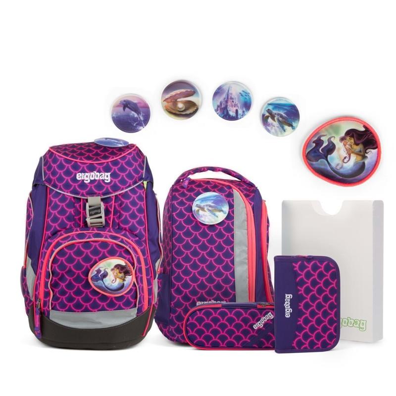 Ergobag Skoletaskesæt Pack Spec. edi Pink/Grøn 1