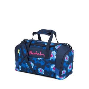 Satch Sportstaske Blå Blomst