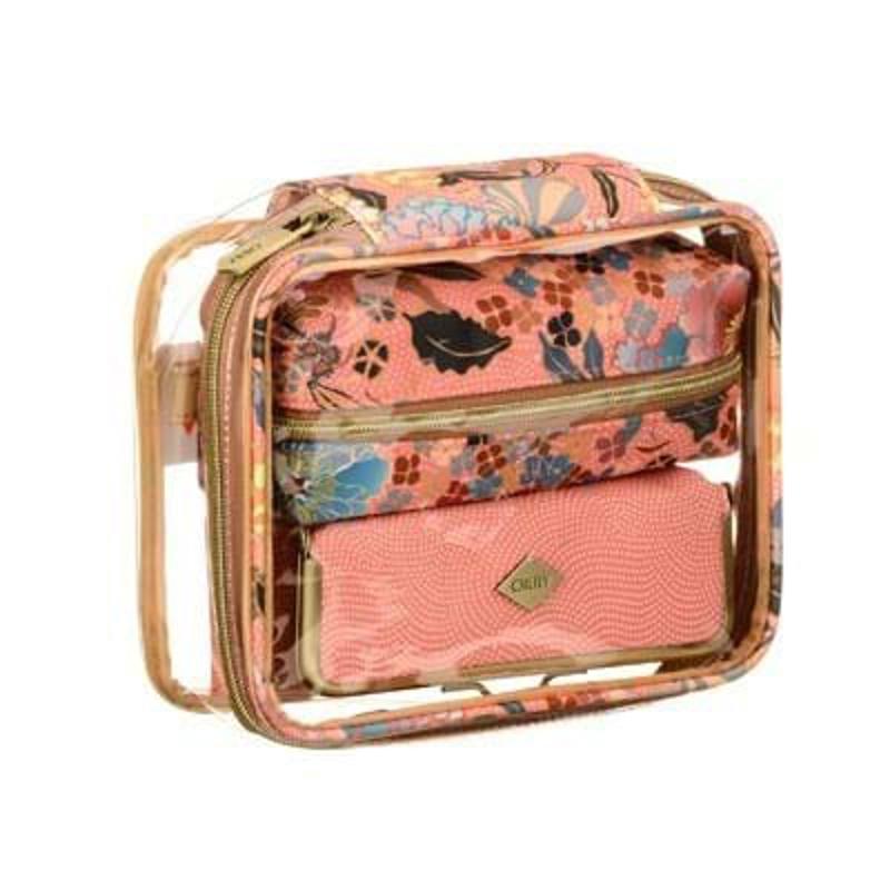 Kosmetik-sæt-3 dele Pink 4