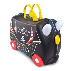 Trunki Børnekuffert med hjul Pedro Sort