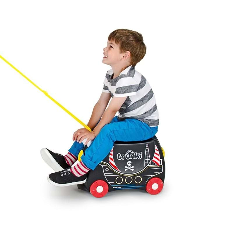 Trunki Børnekuffert med hjul Pedro Rød 4