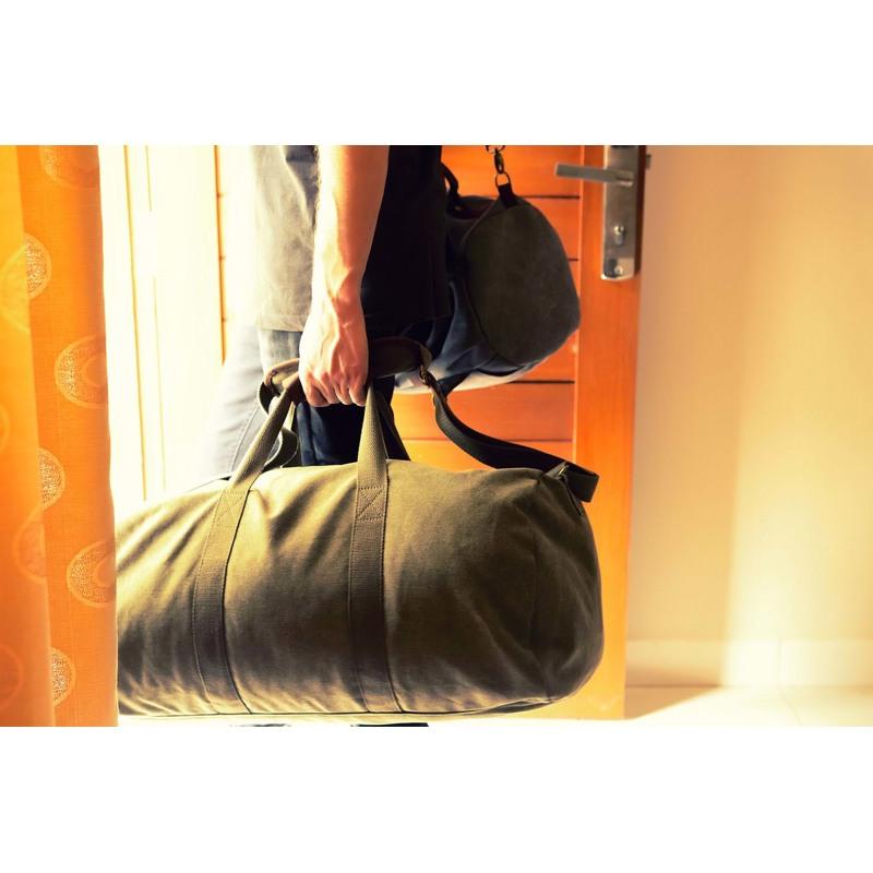 Duffel taske -Stevns Klint Sort 8
