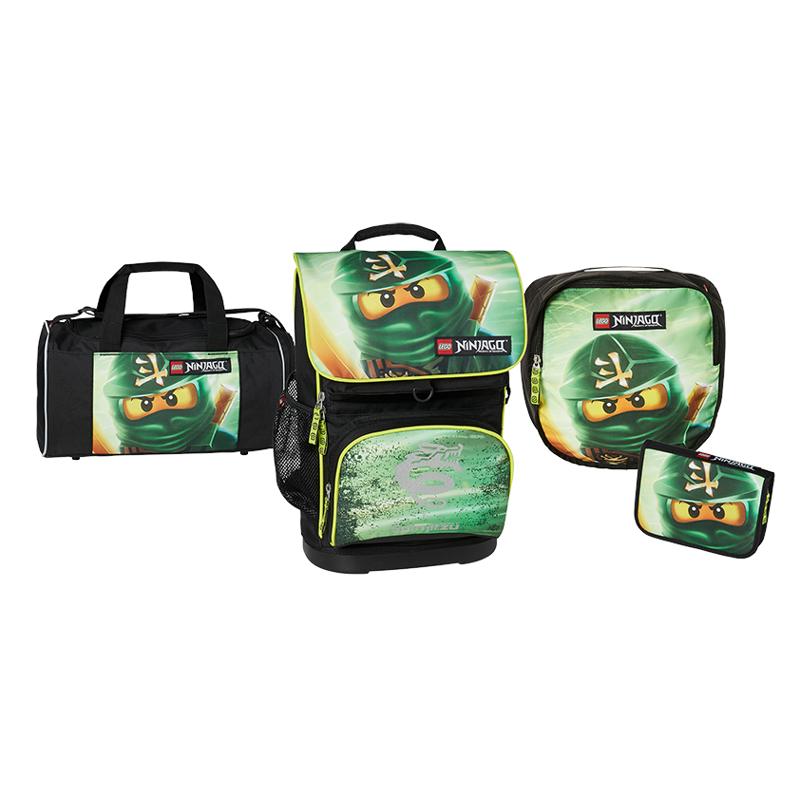 LEGO Skoletaskesæt Optimo ninjago M. Grøn 1