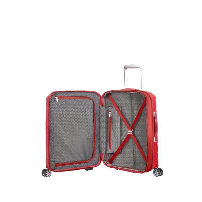 Samsonite Kuffert Flux Rød/rød 3