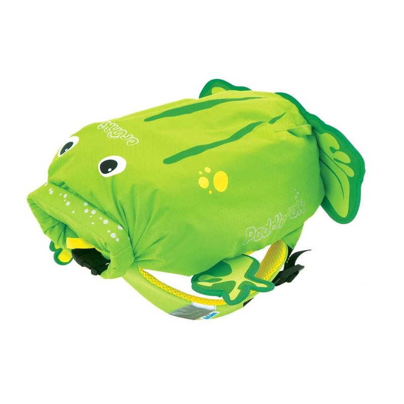 Trunki Rygsæk-PaddlePak Frog Grøn 1