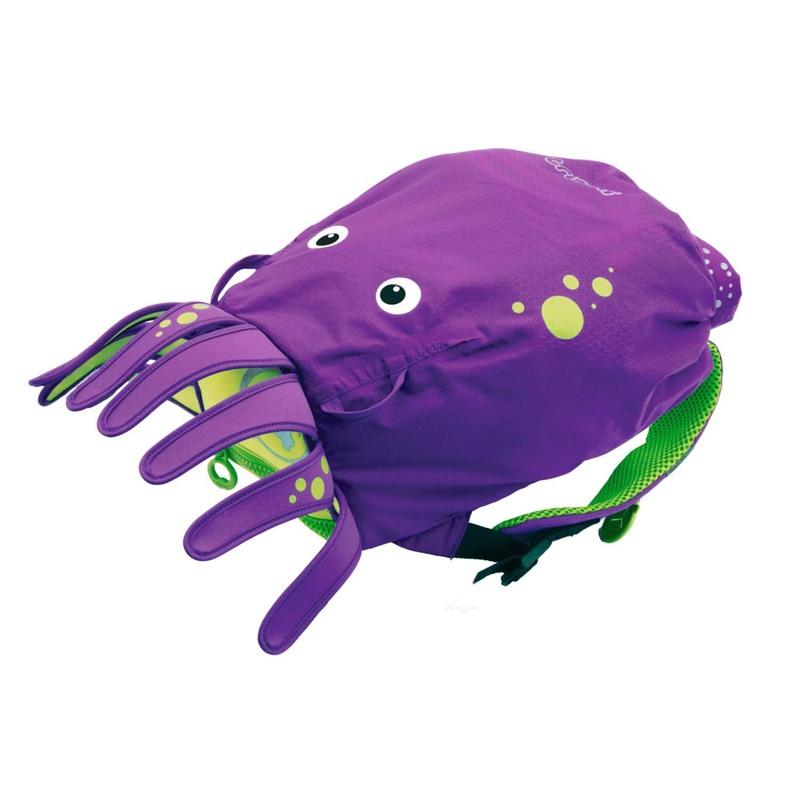 Trunki Rygsæk-PaddlePak Octopus Lilla 1