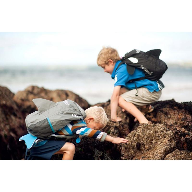 Trunki Rygsæk-PaddlePak Whale Sort 3
