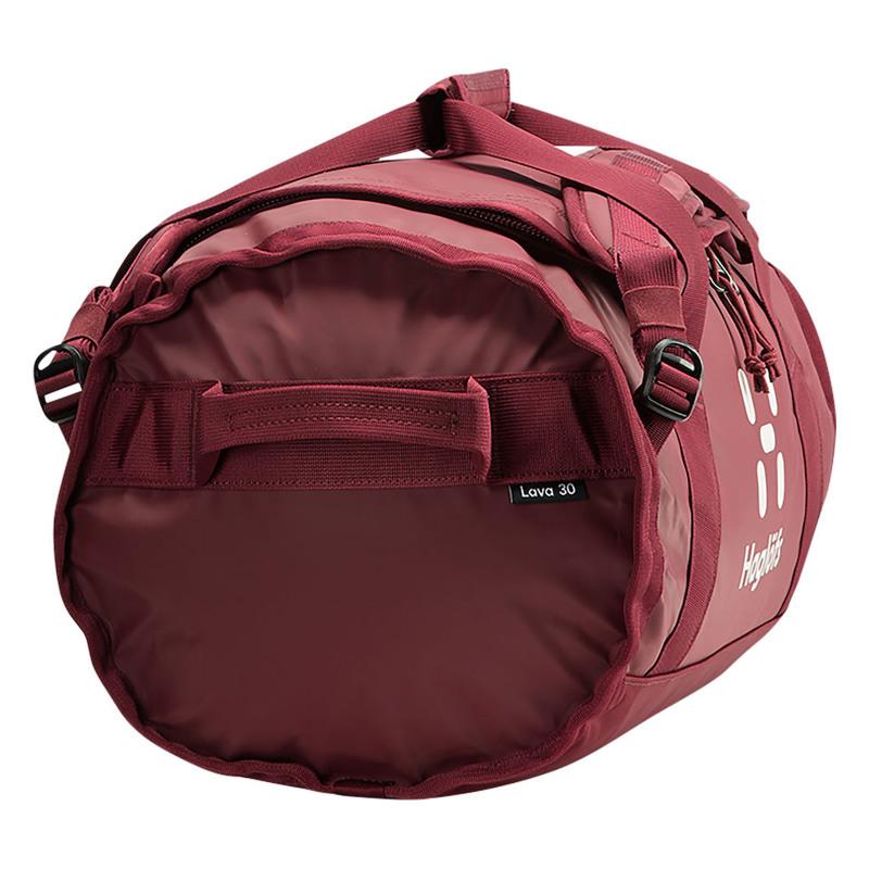 Haglöfs Duffel Bag Lava 30 Wine 4