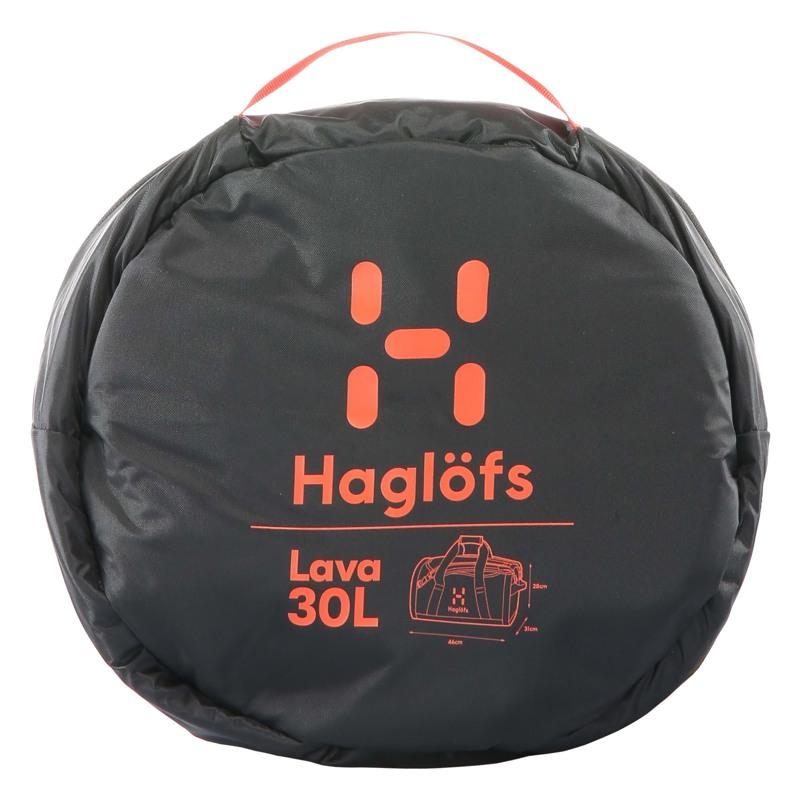 Haglöfs Duffel Bag Lava 30 Sort/Rød 4