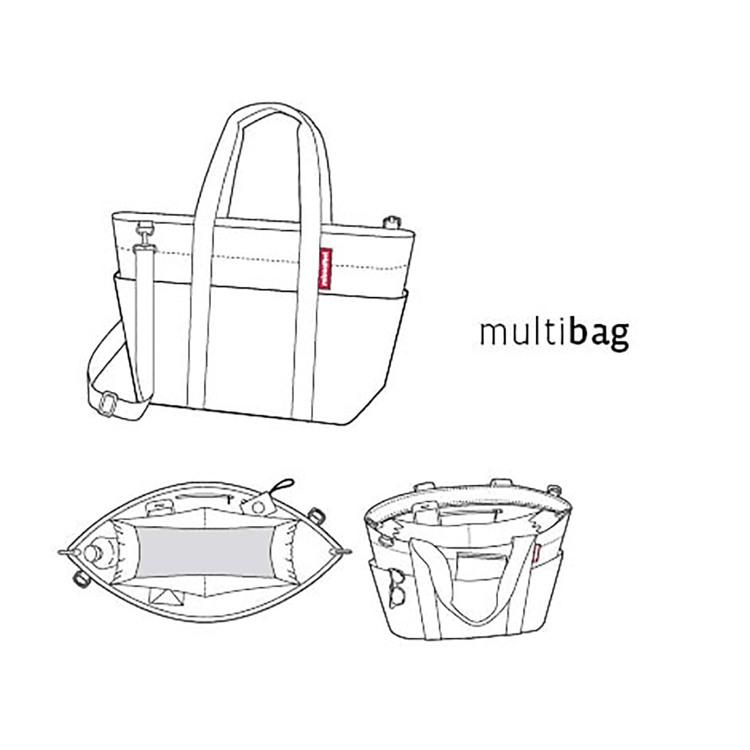 Reisenthel Multibag Sort/prikker 2