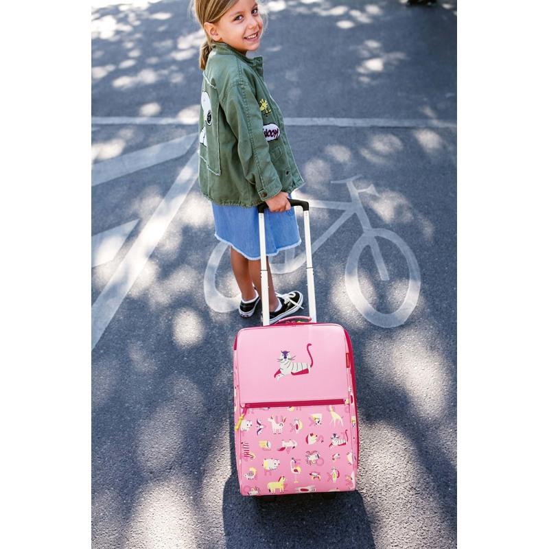 Reisenthel Børnekuffert Kids XS Pink mønstret 3