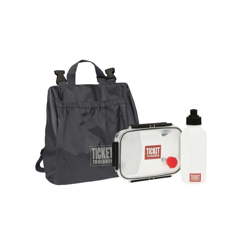 Skoletaske-Backpack jun. Boy Sort mønster 5