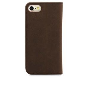 Knomo Mobilcover Leather iPhone 6/6S/7/8/SE Brun alt image