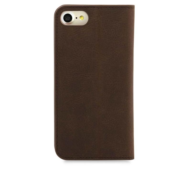 Knomo Mobilcover Leather Brun 2
