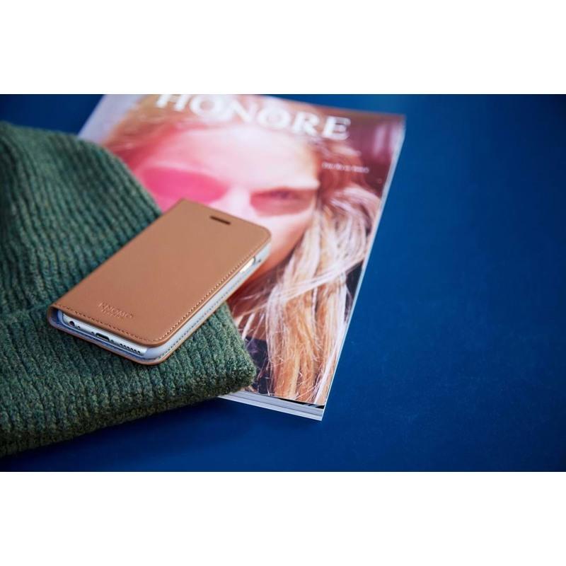 Knomo Mobilcover Leather Brun 5