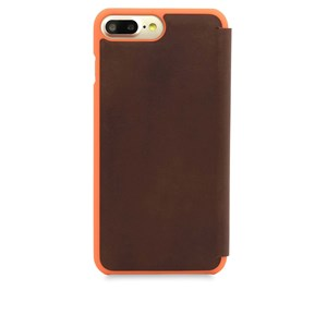 Knomo Mobilcover Leather iPhone 6+/6S+/7+/8+ Brun alt image