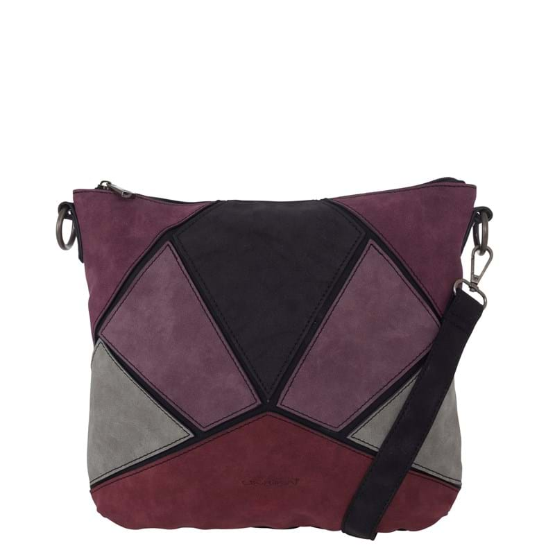Ulrika Clutch m. rem Bordeaux 1