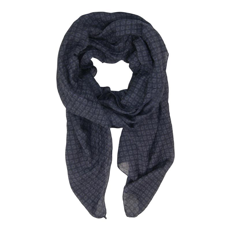 Tørklæde - Scarlett scarf Navy 1
