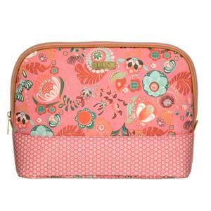 Lilió Toilettaske L -Toiletry bag Pink mønstret 1
