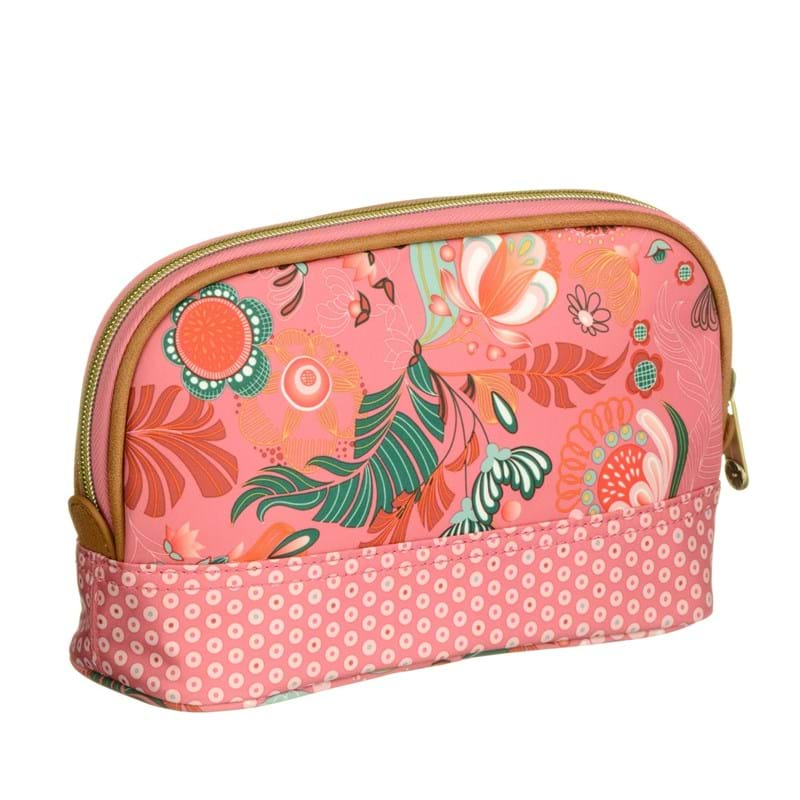 Lilió Toilettaske S -Toiletry bag Pink mønstret 2