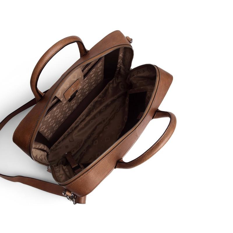Adax Workbag Walther Napoli Cognac 2