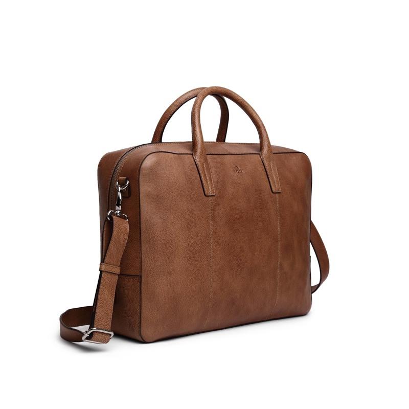Adax Workbag Walther Napoli Cognac 3