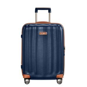 Samsonite Kuffert Lite Cube DLX 55 Cm M. blå
