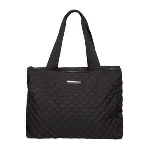 Indkøbstaske -Tote Bag Sort/sølv 1
