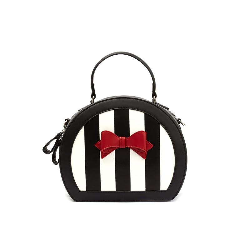 Håndtaske  Creme/Sort 5