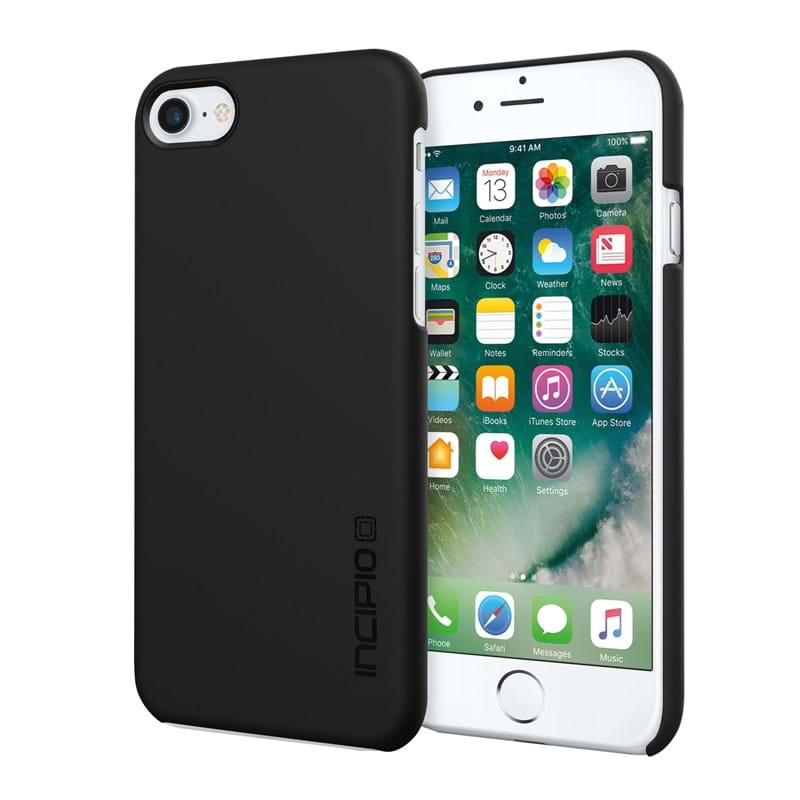Mobilcover iPhone 7 Feather Sort 2