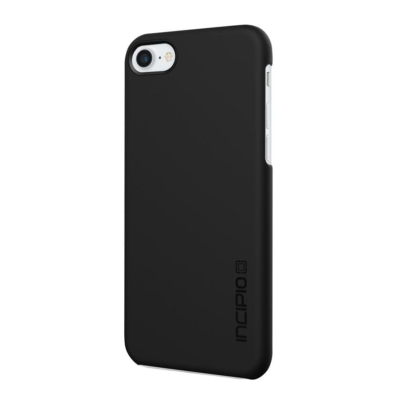 Mobilcover iPhone 7 Feather Sort 1