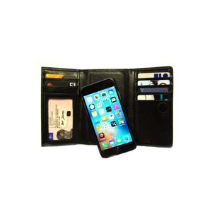 Carlo Mobilpung 3-fløjet iPhone 6+/6S+/7+/8+ Sort